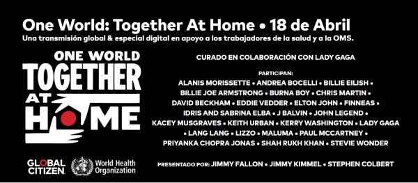 Rolling Stones se une al histórico megaconcierto #togetherathome