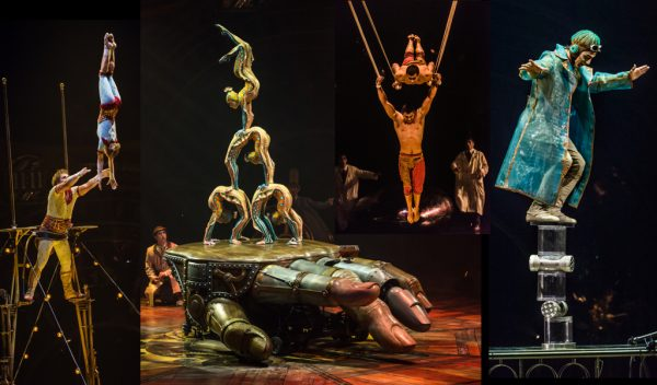 Circo Del Sol Ofrece Gratis Su Inédito Espectáculos 'Kurios'