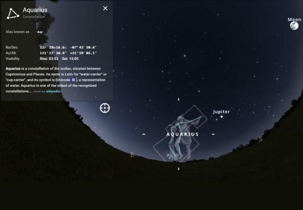 Mayo comienza con la espectacular lluvia de estrellas Acuáridas