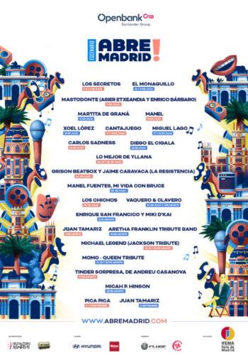 Abre Madrid, nuevo festival al aire libre en IFEMA