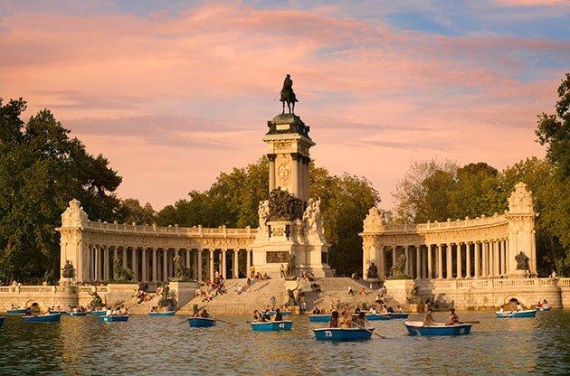 Reabren varios parques de Madrid tras el paso de Filomena