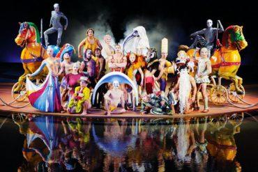 """Circo del Sol ofrece gratis su show """"O"""" desde las Las Vegas"""
