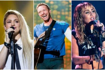 Concierto solidario de Coldplay, Shakira y Justin Bieber