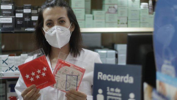 La Comunidad de Madrid regalará una segunda mascarilla