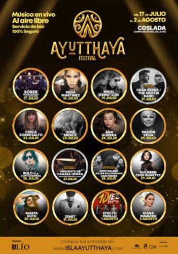 Ayutthaya Festival trae la mejor música nacional en vivo