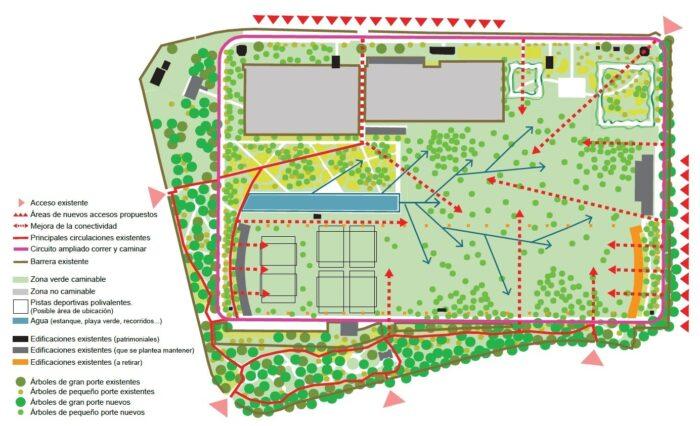 Madrid tendrá un nuevo parque en lugar del campo de golf en Canal