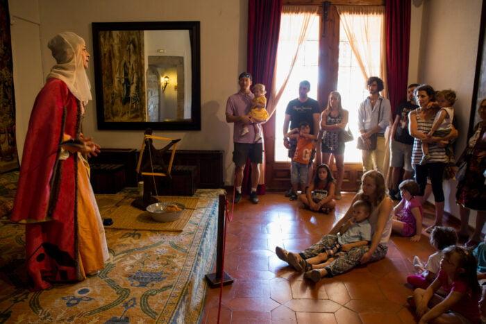 Visitas teatralizadas este verano en el Castillo de Manzanares