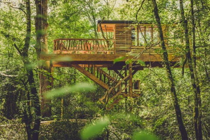 Las 10 cabañas en árboles más espectaculares de España