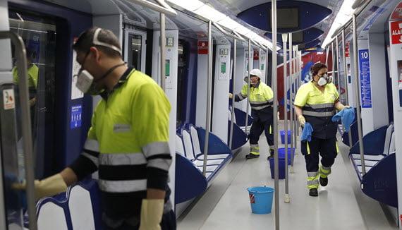 Madrid plantea prohibir comer y beber en el transporte público