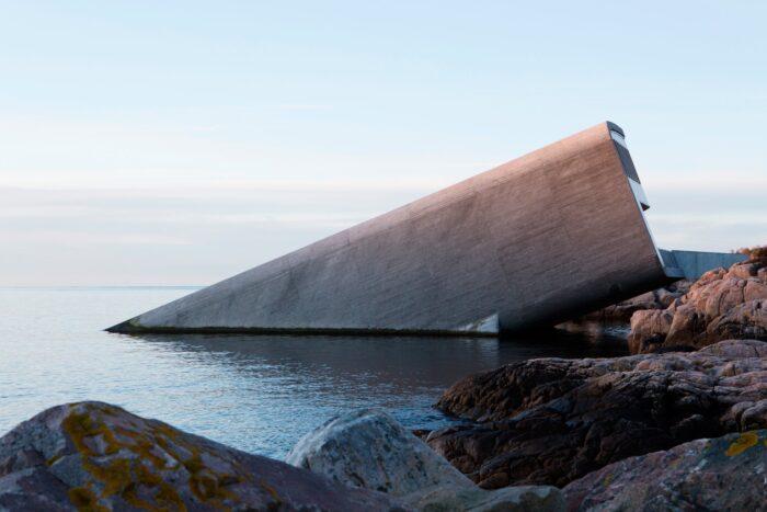 Under es el primer restaurante submarino de Europa