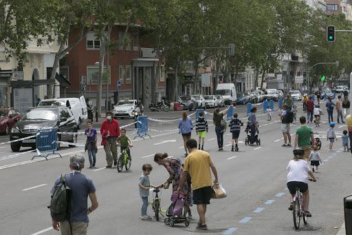 Vuelven a Madrid las calles peatonales en fines de semana