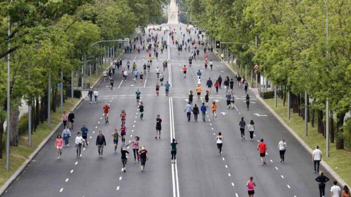 El Paseo de la Castellana tendrá un carril bici de 13 kilómetros