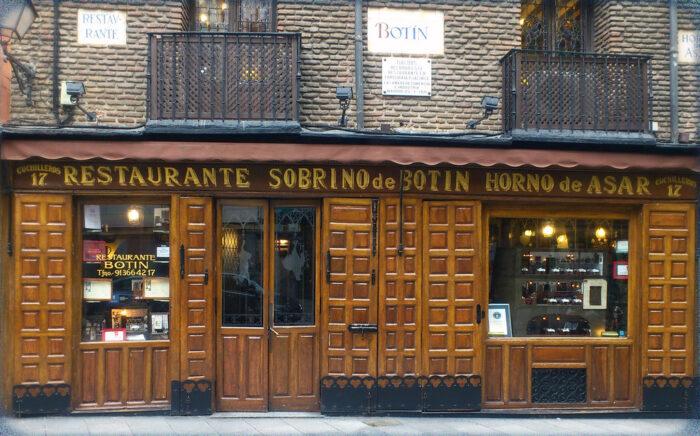 Los restaurantes centenarios de Madrid son espacios de interés cultural