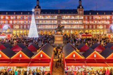 Estas Navidades regresa el mercadillo de Navidad de la plaza Mayor