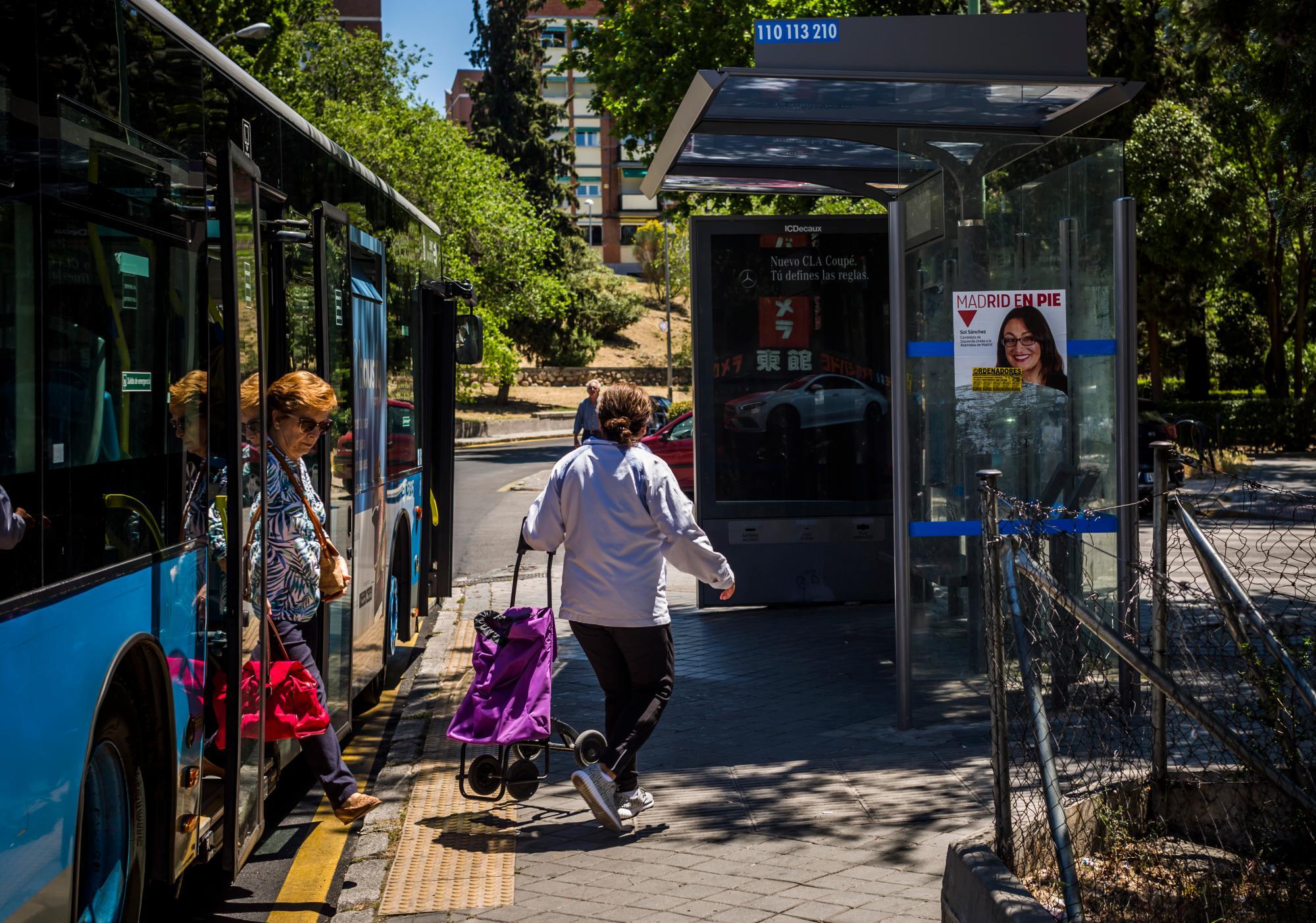 Madrid reducirá un 25% el abono de transporte para mayores de 65 años