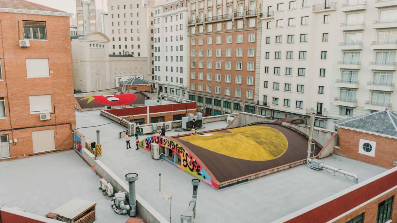 Proponen la creación de una nueva plaza en una azotea de la Gran Vía.