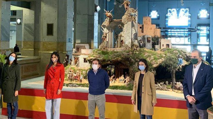 Ya se puede visitar el belén del Ayuntamiento en el Palacio de Cibeles