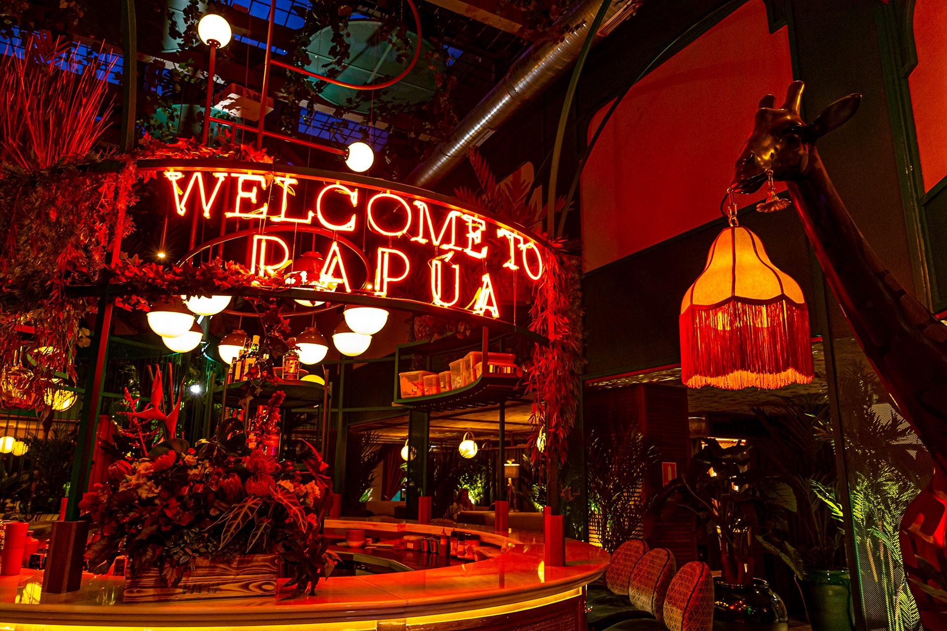 Papúa Colón, exquisita gastronomía en el ambiente más exótico de Madrid
