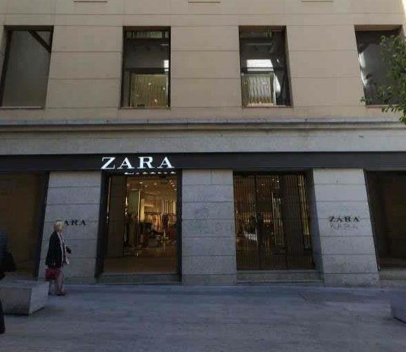 Zara cerrará su tienda de la calle Carretas, la primera que abrió en Madrid
