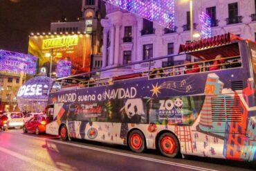 Arranca el Bus de la Navidad de los Reyes Magos de Oriente