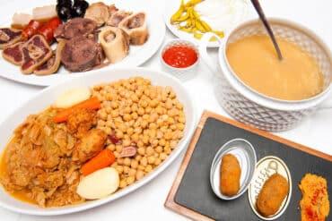 Ruta del cocido madrileño 2021 para comer o para llevar