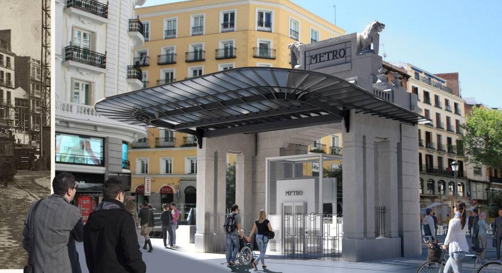 La estación de Gran Vía estrenará los nuevos tornos de Metro de Madrid