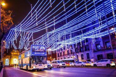 5 opciones para ver las luces de Navidad 2020 de Madrid