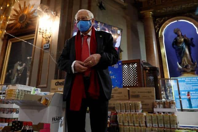 Mensajeros de la Paz hará su cena de Nochebuena en el Congreso