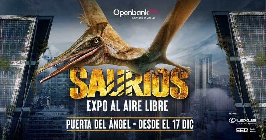 Madrid será invadida por más de cien dinosaurios estas Navidades