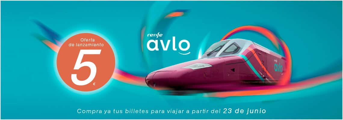 Avlo, el AVE low cost, lanza billetes por solo cinco euros