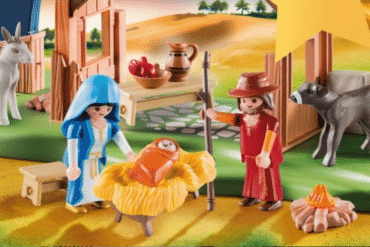 Disfruta gratis de la exposición y Belén de Playmobil.