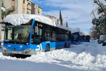Los autobuses de la EMT y la SER serán gratuitos la semana que viene