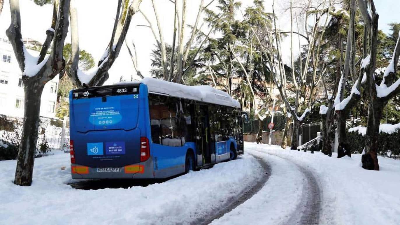 Estado actualizado de todo el transporte público de Madrid