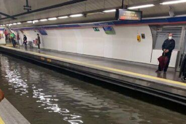 Riesgo de inundaciones en Madrid para este miércoles