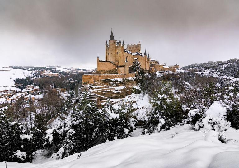 Lo Reyes Magos podrían traer la nevada del siglo en Madrid capital