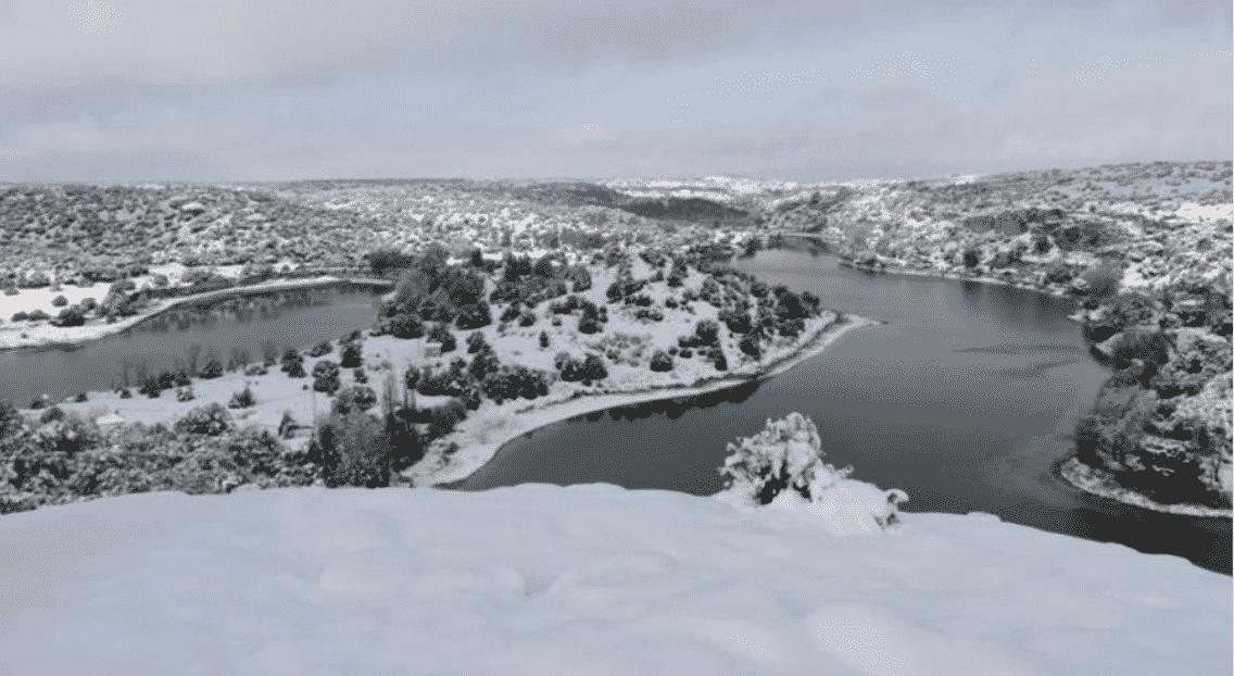 Las mejores imágenes y vídeos de Castilla-La Mancha en la nevada