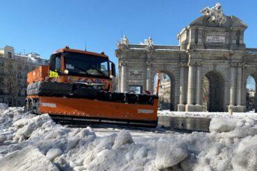 El Gobierno declara a la Comunidad de Madrid zona catastrófica