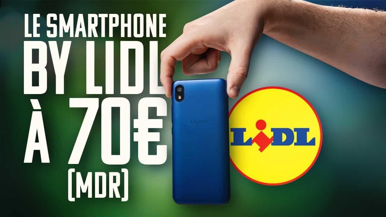 Lidl vuelve a poner a la venta su móvil low cost por 70 euros