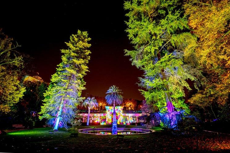 Naturaleza Encendida llenará de luces y magia el Botánico de Madrid