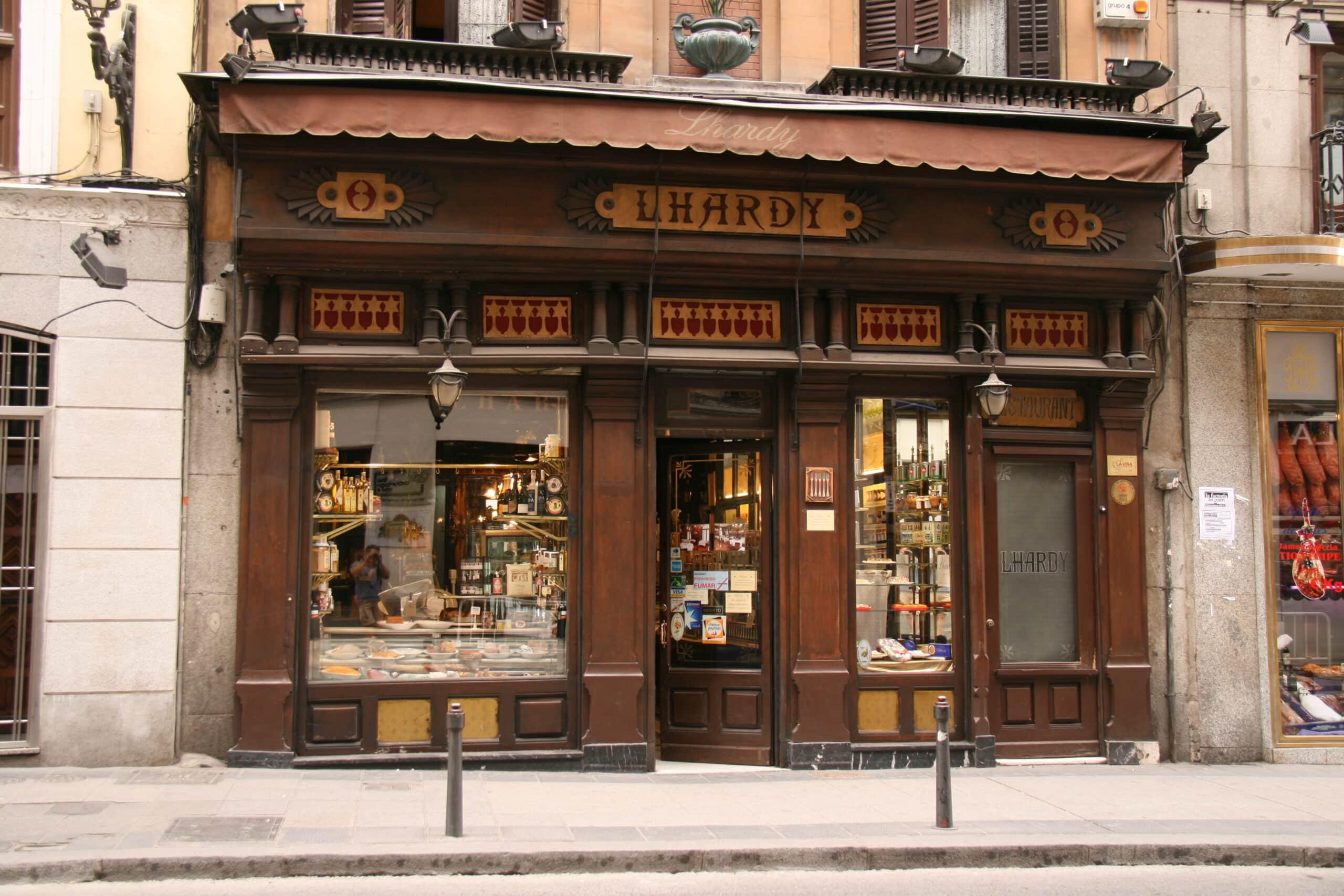 Em peligro la supervivencia del mítico restaurante Lhardy de Madrid