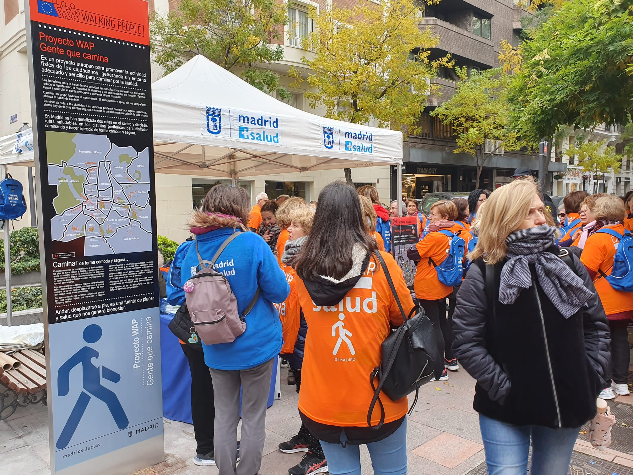 18 Rutas saludables para caminar por Madrid capital