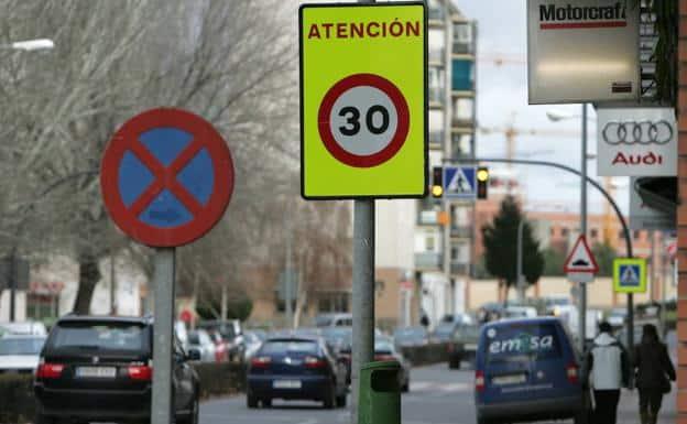 Las calles de Madrid se preparan para el nuevo límite de 30 km/h