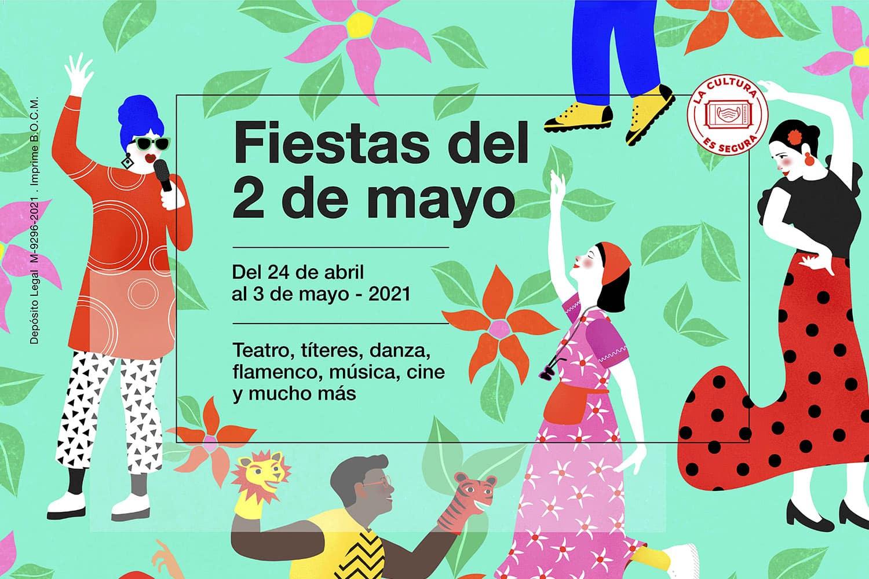 Madrid se engalana para celebras las Fiestas del 2 de mayo 2021