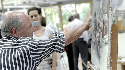 Exposición gratuita del pintor Antonio López en la Real Casa de Correos