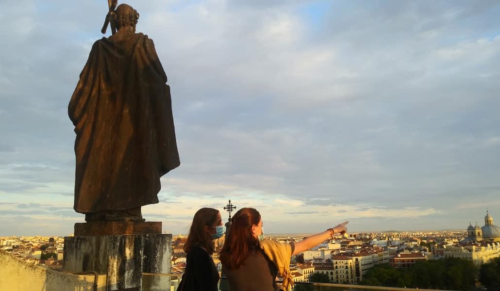 Disfruta del mejor atardecer de Madrid desde la cúpula de La Almundea