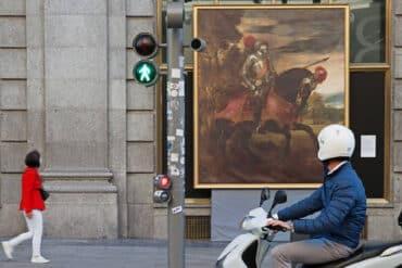 A la vuelta de la esquina saca el arte del Prado a las calles de Madrid