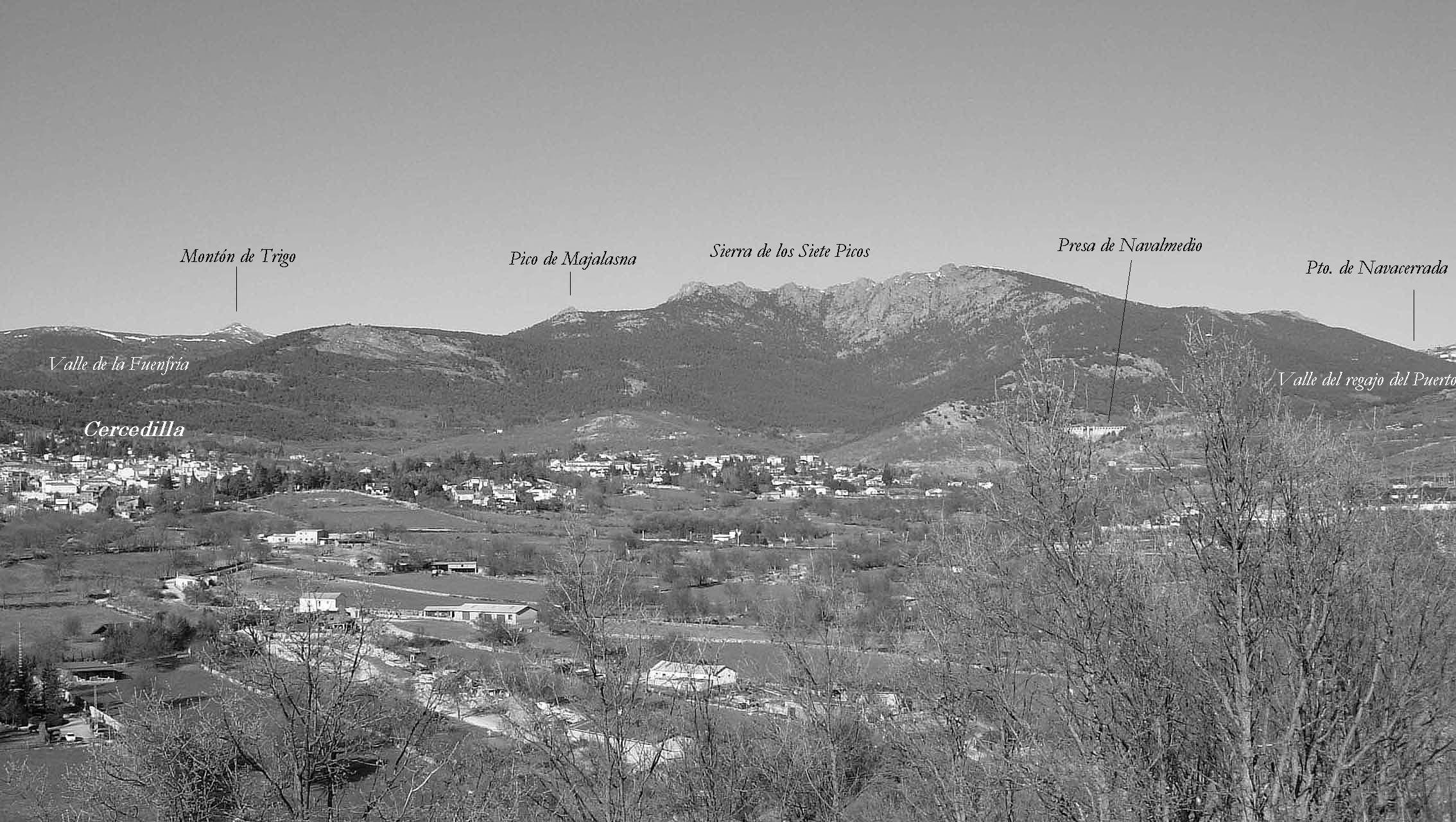 Los mejores miradores de la Sierra de Guadarrama