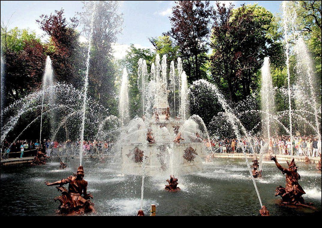 Regresa el espectáculo único de las fuentes de la Granja de San Ildefonso