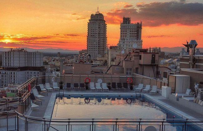 Madrid a cielo abierto abre terrazas, jardines y azoteas de hoteles