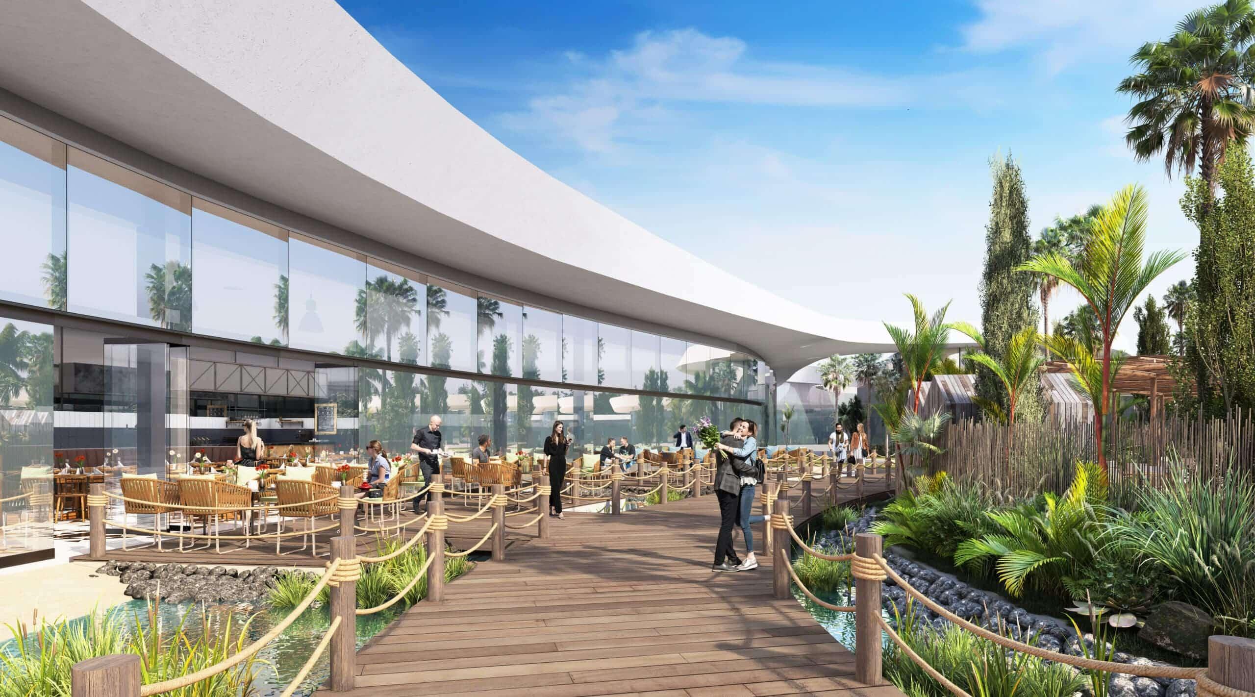 Oasiz Madrid será un nuevo resort comercial estilo Dubai